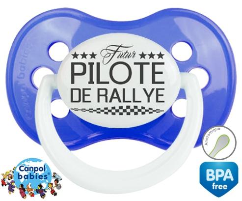 Futur pilote de rallye style1: Sucette Anatomique-su7.fr