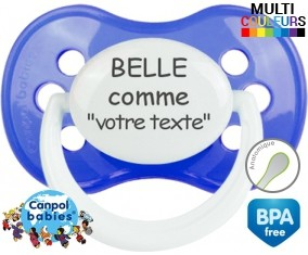 Belle comme... + prénom: Sucette Anatomique-su7.fr