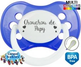 Chouchou de papy : Sucette Anatomique personnalisée