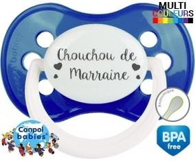 Chouchou de marraine: Sucette Anatomique-su7.fr
