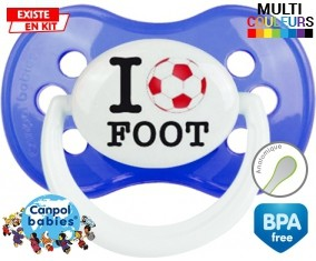 I love foot : Sucette Anatomique personnalisée