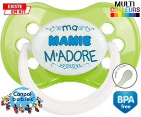 Ma mamie m'adore (garcon): Sucette Anatomique-su7.fr