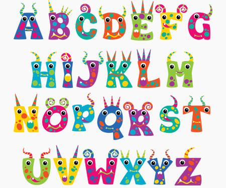 Boîte à tétine Prénom ou texte personnalisée alphabet style-53