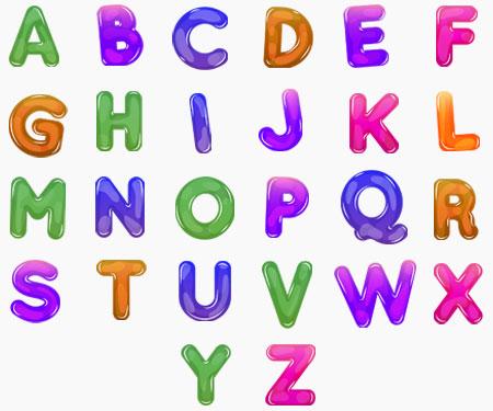 Boîte à tétine Prénom ou texte personnalisée alphabet style-59