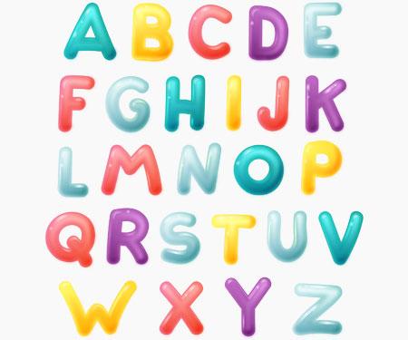 Boîte à tétine Prénom ou texte personnalisée alphabet style-60