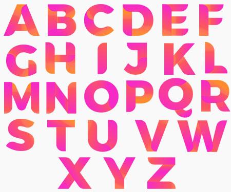 Boîte à tétine Prénom ou texte personnalisée alphabet style-63