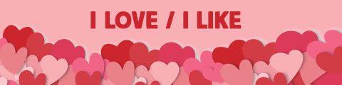 Design pour i-love-i-like personnalisé