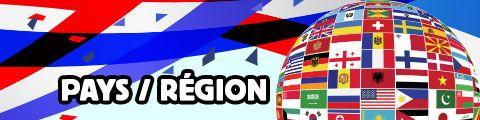 Design pour pays-region personnalisé